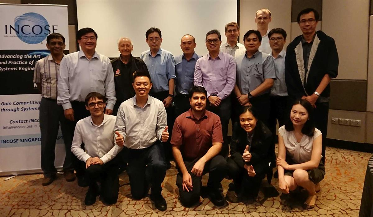 Singapore Chapter AGM 2019 Attendees