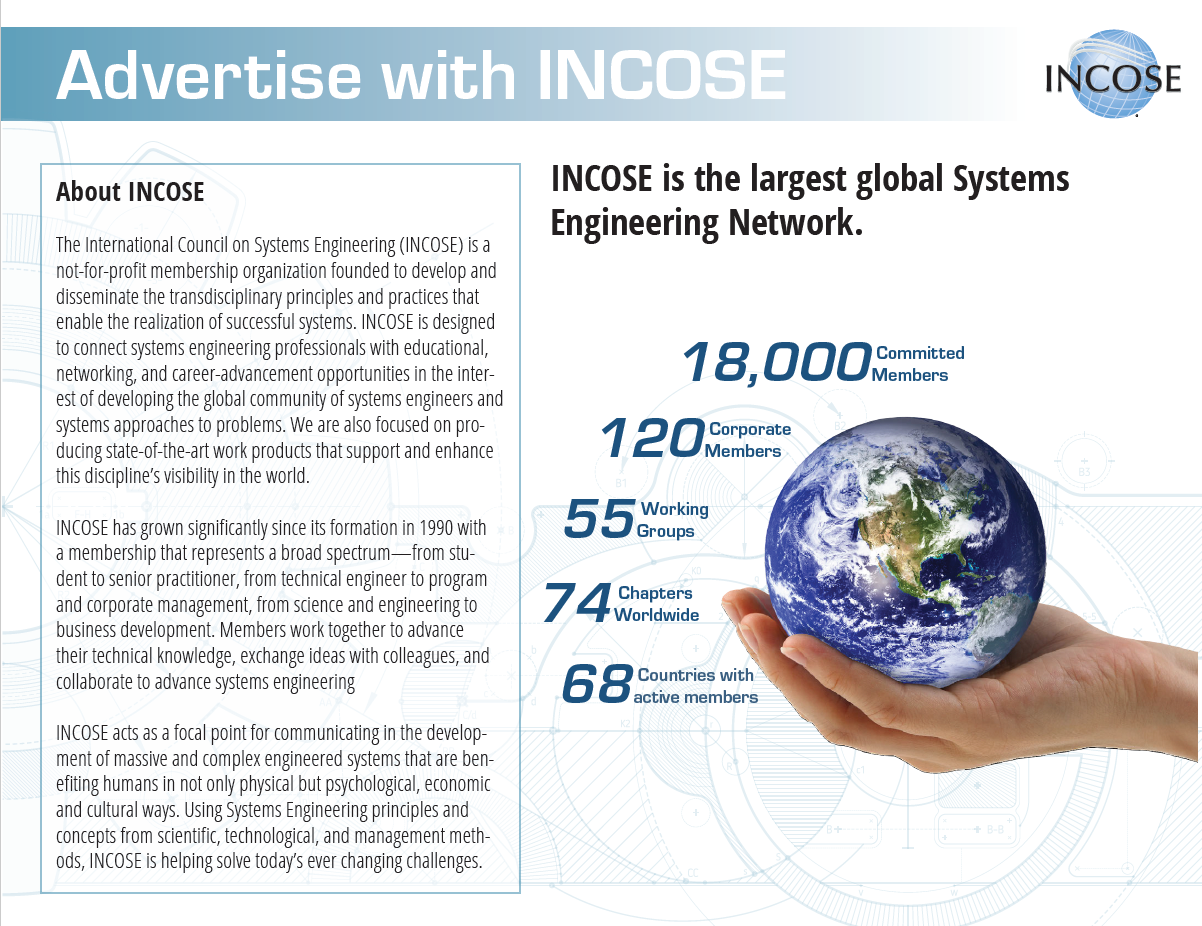 Advertise with INCOSE