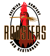 Roosters Brewing Company and Restaurant Logo